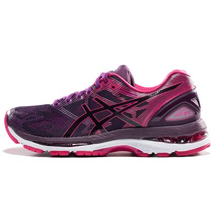 亚瑟士ASICS N19缓震慢跑鞋GEL-NIMBUS 19女款跑步鞋 T750N-9020(强力缓震,稳定支撑)
