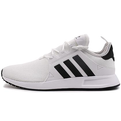 阿迪达斯Adidas三叶草简版NMD跑鞋 X_PLR男女款跑步鞋 CQ2406 浅白/1号黑色(轻盈透气,缓震回弹)