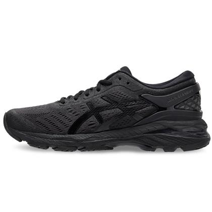 亚瑟士ASICS跑鞋 K24女款慢跑鞋GEL-KAYANO 24 T799N-9090 黑色(跑鞋之王)