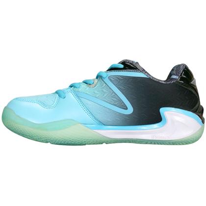 李宁羽毛球鞋 AYAL022-3 亮水蓝/黑 女款比赛鞋