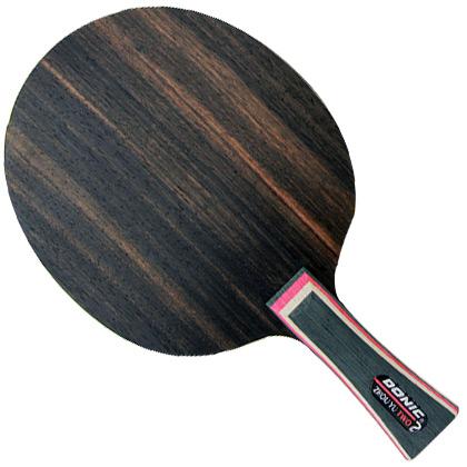多尼克DONIC底板 周雨二(33982/22982)乒乓底板,纯正5夹结构,黑檀木面材,弧圈快攻底板