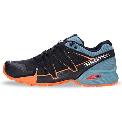 Salomon 萨洛蒙 SPEEDCROSS VARIO 2 男款越野跑鞋 398415 黑色(轻量灵活,强劲抓地)