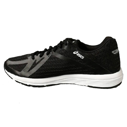 亚瑟士ASICS AMPLICA 男款稳定慢跑鞋 T825N 黑色(入门性价比亚瑟士跑鞋)