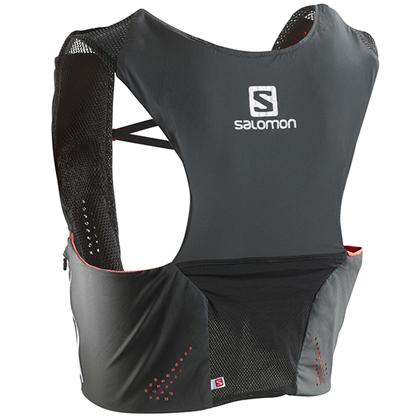 SALOMON薩洛蒙越野背包3L S-LAB 371990 黑色(靈活輕巧,舒適透氣)