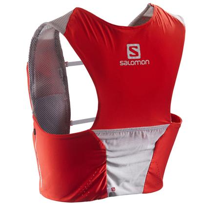 SALOMON萨洛蒙越野背包3L S-LAB 375714 竞赛红(灵活轻巧,舒适透气)