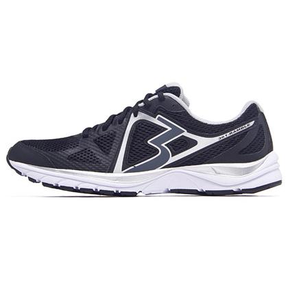 361°国际版跑步鞋 361-RAMBLE 男款缓震跑鞋 Y706-1 黑色/银白色(经典简约,舒适缓震)