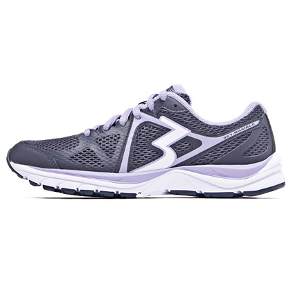 361°国际版跑步鞋 361-RAMBLE 女款缓震跑鞋 Y756-3 深灰/白色(经典简约,舒适缓震)