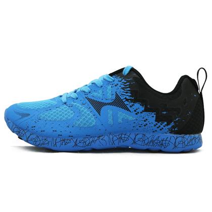 HEALTH海尔斯 马拉松跑鞋 体育比赛训练鞋 796 蓝黑(高弹缓震,防滑耐磨)