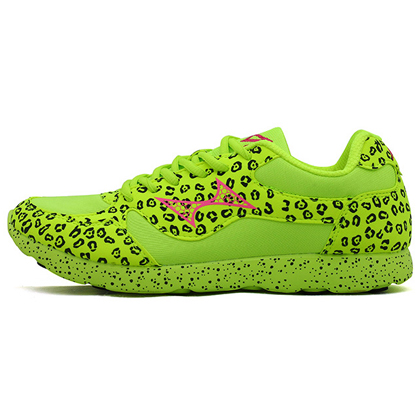 HEALTH海尔斯 男女款马拉松跑鞋 体育田径比赛训练鞋 766 荧光绿(轻盈减压,灵动自如)
