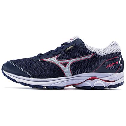MIZUNO美津浓 R21 GTX女款防水跑鞋越野跑鞋WAVE RIDER 21 GTX(防水透气,湿滑路面更具抓地力)