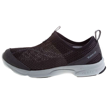 探路者Toread 营地鞋 TFJE81707-G01G 男式 黑色深灰