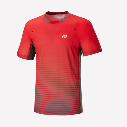 尤尼克斯YONEX 短袖T恤110517BCR 男款 红色(秒杀,全场。)