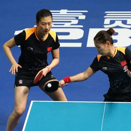 李宁新款国家队乒乓球服AAYN052-1女款短袖黑橘色