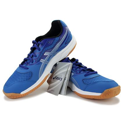 ASICS爱世克斯B705Y-4293 男款乒乓球鞋 彩蓝色乒乓球鞋