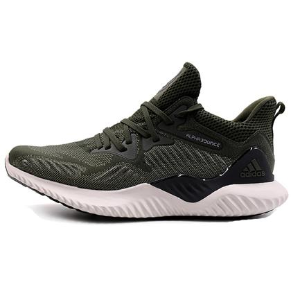 阿迪达斯Adidas阿尔法小椰子跑鞋 a注册送白菜网habounce beyond m男款跑步鞋(舒适缓震,稳定支撑)