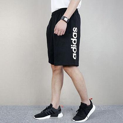 Adidas 阿迪达斯短裤 男款运动短裤 五分裤 BS5026 黑色(柔软舒适,速干透气)