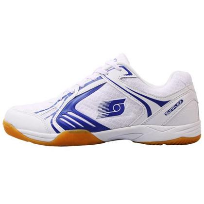 阳光SUNFLEX乒乓球鞋S300男女鞋透气防滑运动鞋白蓝色
