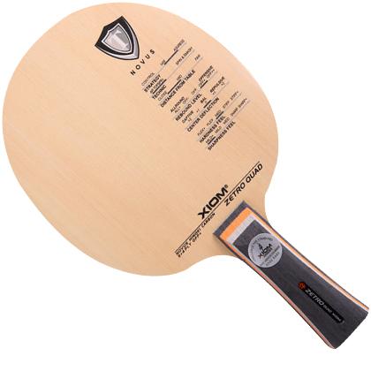 骄猛XIOM 杰拓碳皇ZETRO QUAD乒乓球底板,近中台快攻弧圈型底板