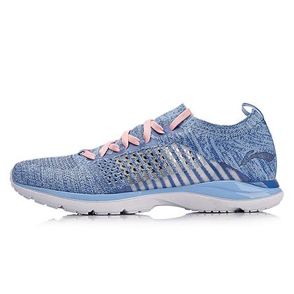 李宁 超轻15代 女款轻质跑步鞋 ARBN016-5 极光蓝/江水蓝(历经15代蜕变,轻出新高度)