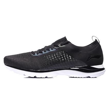 李宁 超轻15代 男款轻质跑步鞋 ARBN009-2 标准黑/标准白(历经15代蜕变,轻出新高度)