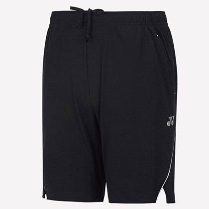 尤尼克斯YONEX 短裤 120118BCR-007 男款 黑色