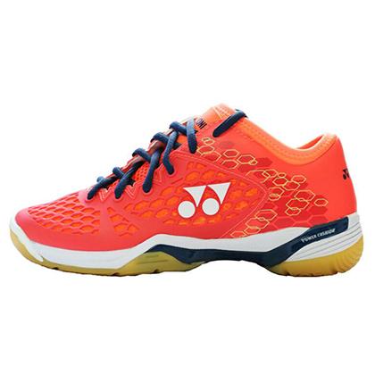 尤尼克斯YONEX羽毛球鞋 SHB-03ZLEX 李宗伟同款 珊瑚红 女款