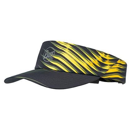 BUFF空顶帽 马拉松跑步 户外运动 男女防晒反光遮阳帽 117252 黄色荧光(舒适透气 反光吸汗)