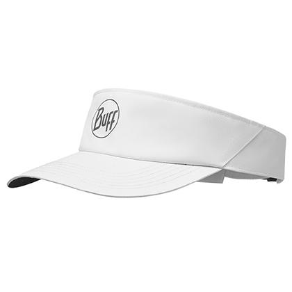 BUFF空顶帽 马拉松跑步 户外运动 男女防晒反光遮阳帽 117251 经典纯白(舒适透气 反光吸汗)