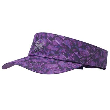 BUFF空顶帽 马拉松跑步 户外运动 男女防晒反光遮阳帽 117256 紫色丁香(舒适透气 反光吸汗)
