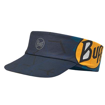 BUFF空顶帽 折叠跑步空顶帽 户外运动 男女防晒反光遮阳帽 115180 经典LOGO(轻量可折叠,反光吸汗)