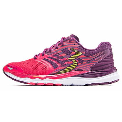 361°国际版跑步鞋 361-MERAKI 女款缓震跑鞋 Y853-2 鲜红/紫色(轻量透气,缓震支撑)