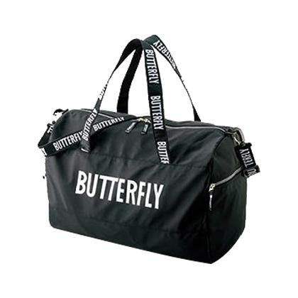 蝴蝶Butterfly 乒乓球包 BTY-201-0209 小旅行包 黑/银色
