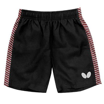 蝴蝶Butterfly 儿童乒乓球短裤 CHD-301-02 黑色