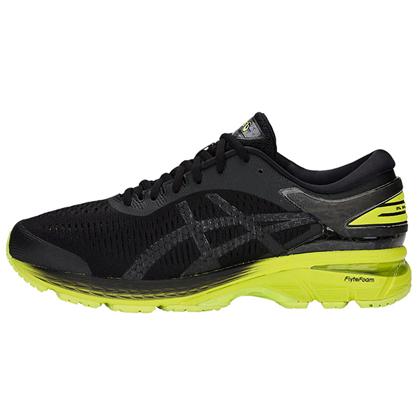 ASICS亚瑟士 GEL-KAYANO25 稳定慢跑鞋 男款K25跑步鞋 1011A019 黑色(新品尝鲜)