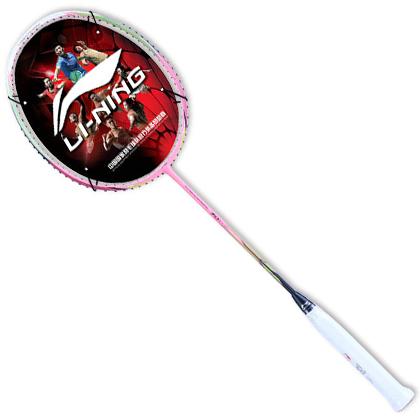 李宁羽毛球拍 能量70I (能量聚合70I,原N7二代Light 粉)超轻羽毛球拍