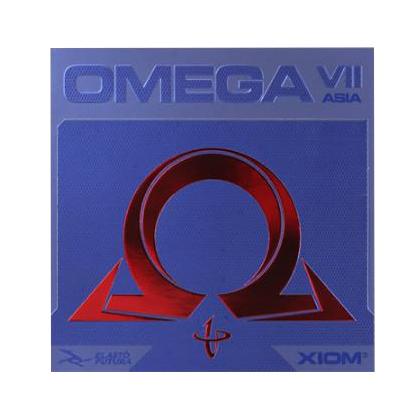 骄猛XIOM 欧米茄七/欧米伽7 骄猛欧七亚洲版 反胶套胶 弧圈快攻专业套胶(XIOM OMEGA VII)