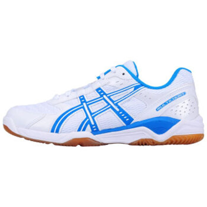 ASICS亚瑟士 乒乓球鞋 B000D-0143 白蓝色 价格实惠,畅销多年,爱世克斯乒乓球鞋