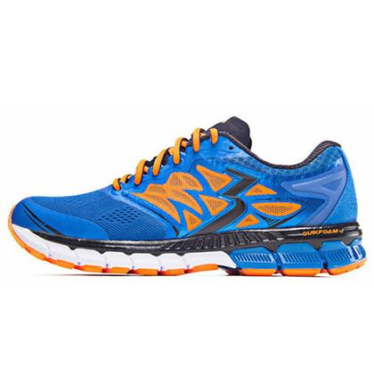 361°国际版跑步鞋 361-STRATA 2男款慢跑鞋 Y801-1 蓝色/黑色(轻量透气,缓震支撑)