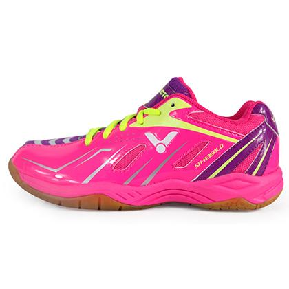 胜利Victor羽毛球鞋 SH-A360LD-QJ女款羽毛球鞋 桃红