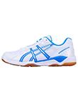 爱世克斯ASICS 乒乓球鞋 B000D-0143 白蓝色