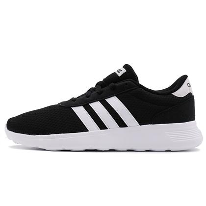 Adidas阿迪达斯跑步鞋中性款运动鞋 LITE RACER 轻便跑鞋 BB9774 黑色(网眼透气,轻量舒适)