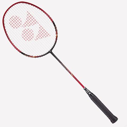 尤尼克斯YONEX 羽毛球拍NR-10F/NR10F黑红色 成品拍(初学者入门利器)