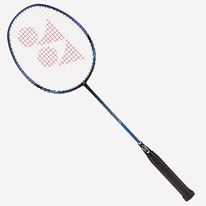 尤尼克斯YONEX 羽毛球拍NR-10F/NR10F 黑蓝色 成品拍(原产中国,初学者入门利器)