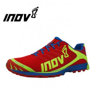INOV-8男女款越野跑鞋270鞋面 超轻透气,干爽舒适 红色-蓝色-柠檬