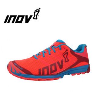 INOV-8 男女款越野跑鞋270 鞋面采用超细纤维弹力网布  粉红-梅红-蓝色