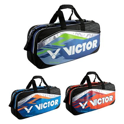 胜利VICTOR羽毛球包 BR9608 矩形长型拍包 12支装