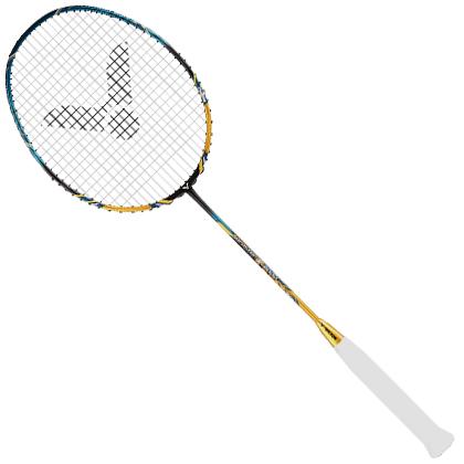 勝利VICTOR羽毛球拍 TK9000(威克多 突擊9000,雷火之擊  再戰江湖),可拉高磅,輕量進攻型球拍!