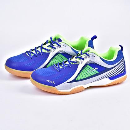 斯帝卡STIGA CS-8551 男女通用专业乒乓球鞋 一体成型 蓝绿色