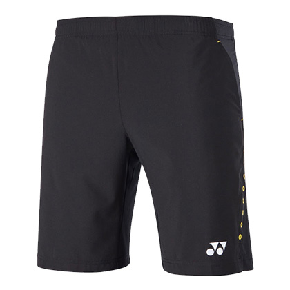 尤尼克斯YONEX 短裤 120018BCR-007 男款 黑色
