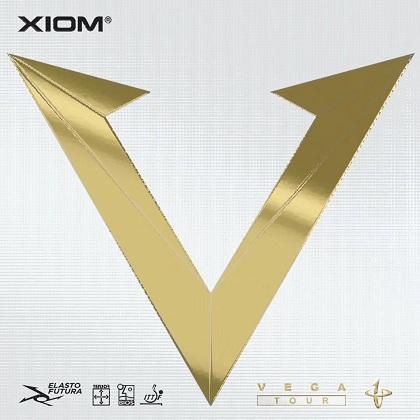 驕猛Xiom 唯佳頂級(金V)Vega Tour新品套膠79-060,碳素海綿,動感摩擦,更強旋轉攻擊力!